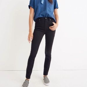 "Madewell 9"" High Rose Skinnies"